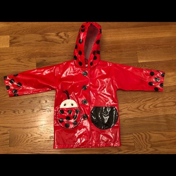 Kidorable Ladybug Raincoat